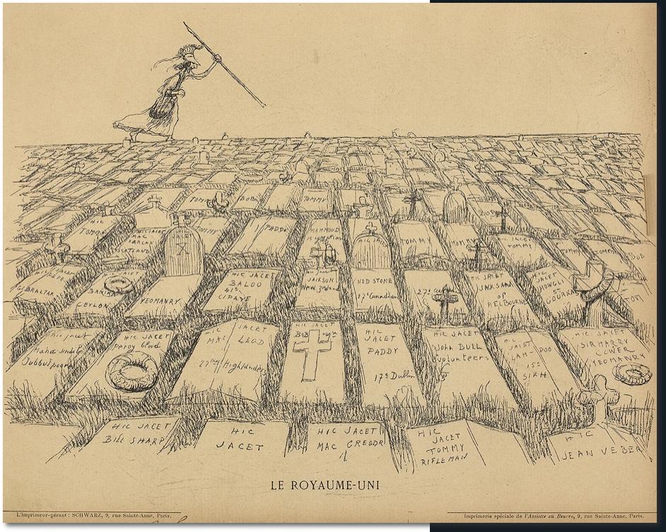 Рисунок Жана Вебера из журнала «L'Assiette au Beurre» за 28 сентября 1901 года. Источник: Bibliothèque nationale de France/gallica.bnf.fr